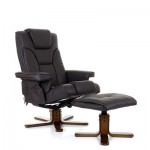 Boden with Heat and Massage Swivel Recline