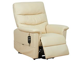 Kenmure Leather Riser Recliners