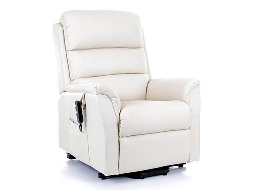 Bergen Petite Leather Riser Recliner