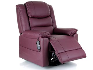 Toronto Leather Riser Recliners