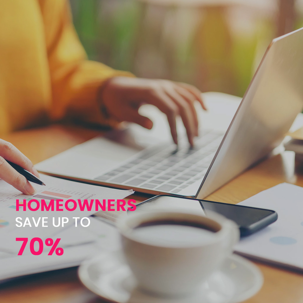 Homeowners save up to 70% on Electricity!